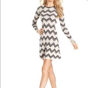 BCBGMaxAzria Keeley Jacquard Dress, Small NWT